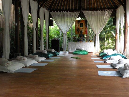 Villa Boreh Beach Resort and Spa Hotel: Yogasal