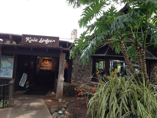 Kula Lodge: Front entrance
