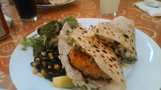 Simply Delicious Cafe Daily Fare : Fish Tacos