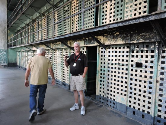 Old Idaho Penitentiary: Prison Guard Re-enactment