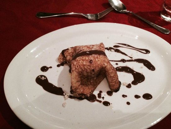 La Plaine St. Andre: Crepe con gelato