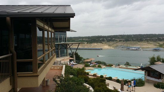 Lakeway Resort and Spa: View from restaurant.