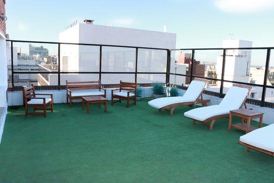 Pocitos Plaza Hotel: Solarium