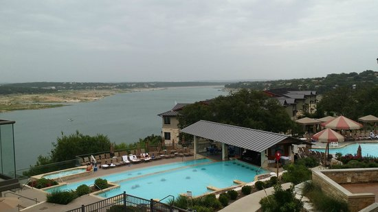 Lakeway Resort and Spa: View of Lake Travis