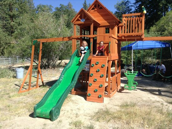 Pine Knot Guest Ranch: Our new tri level playset