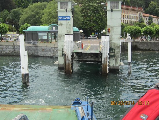 Hotel Metropole Bellagio: Ferry ride from Verano to Bellagio