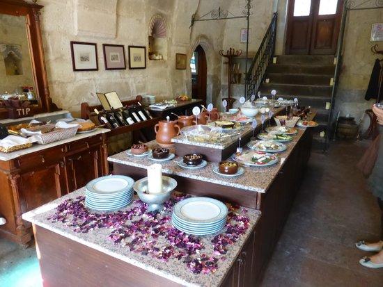 Gul Konaklari - Sinasos Rose Mansions: petit dejeuner