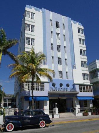 Art Deco Historic District: Park Central Hotel