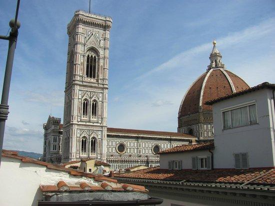 B & B Cimatori: Vista Duomo e torre di Giotto