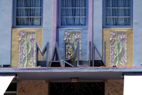 Art Deco Historic District: Fachada do Merlin