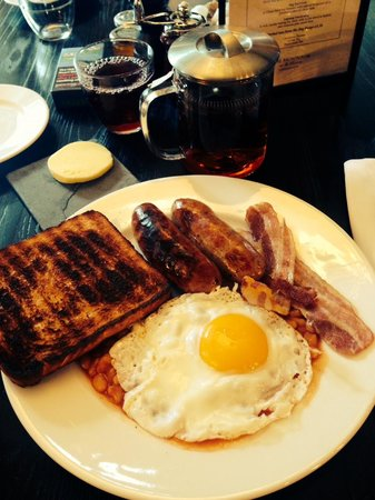 The Montcalm at the Brewery London City: Breakfast at The Jugged Hare