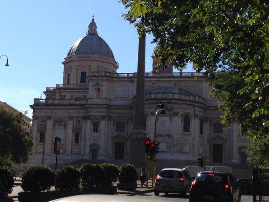 Basilica di Santa Maria Maggiore: Bella facciata
