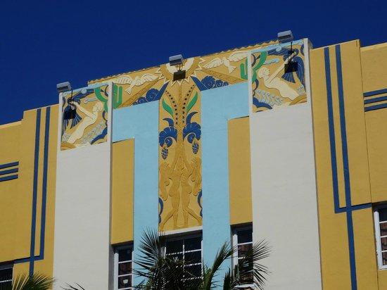 Art Deco Historic District: Fachada