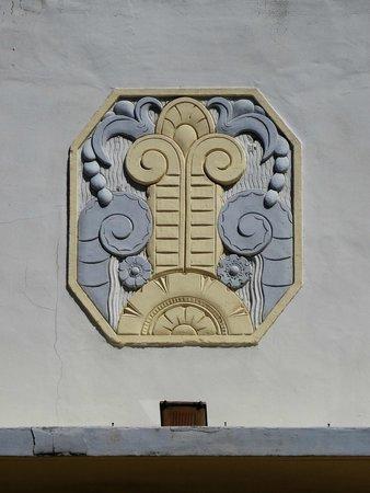 Art Deco Historic District: Detalhe