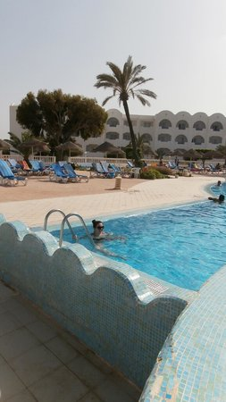 Palais des Iles Djerba Hotel: piscine strepitose