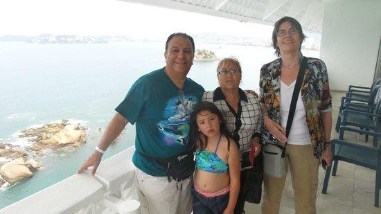 Fiesta Americana Villas Acapulco : En el balcón de la habitación