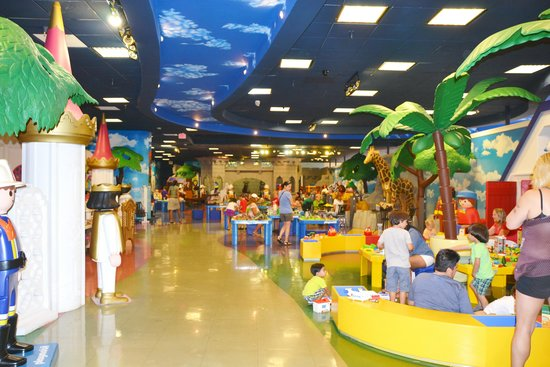 Play Area Picture Of Playmobil Funpark Palm Beach Gardens Tripadvisor