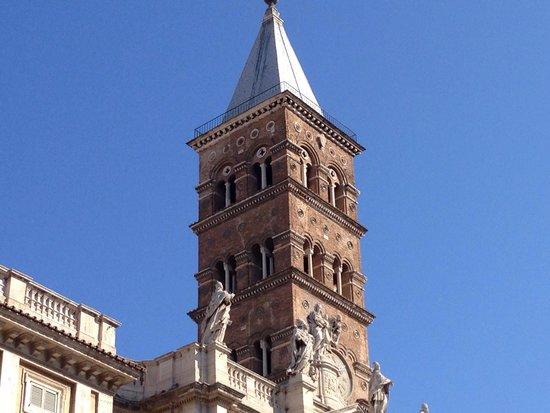 Basilica di Santa Maria Maggiore : Il campanile