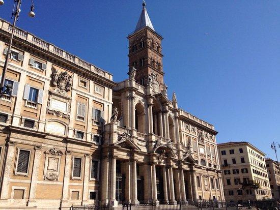 Basilica di Santa Maria Maggiore: Facciata esterna