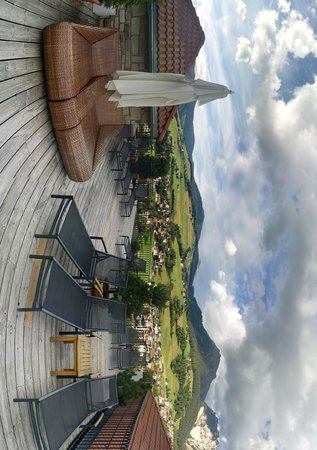 Excelsior Dolomites Life Resort: Zen garden