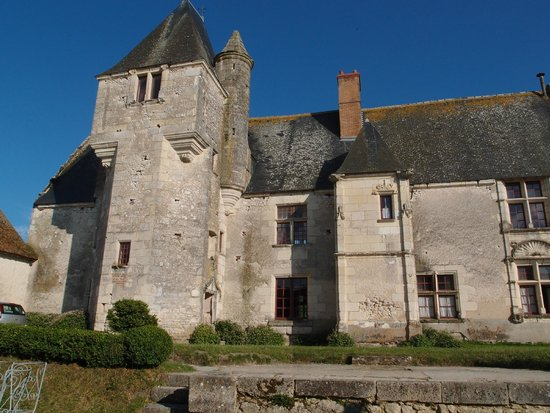 château de Chémery : The old wing