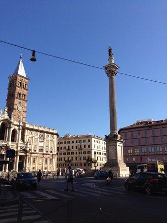Basilica di Santa Maria Maggiore: L'obelisco