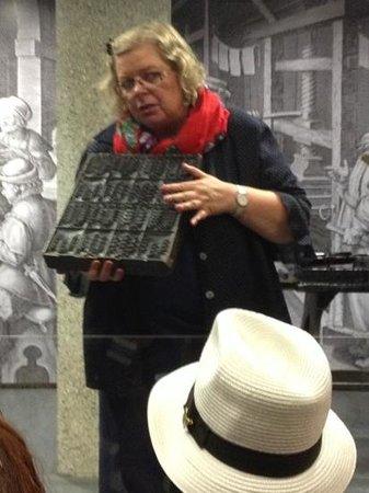 Gutenberg Museum : demonstrations