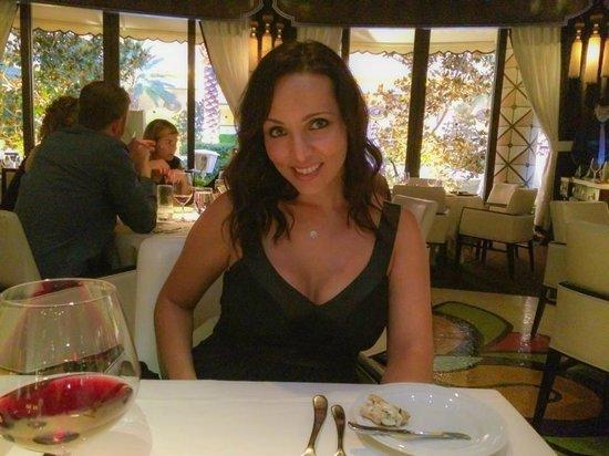 Wynn Las Vegas: Dinner at Botero the wonderful steakhouse next door at the Encore