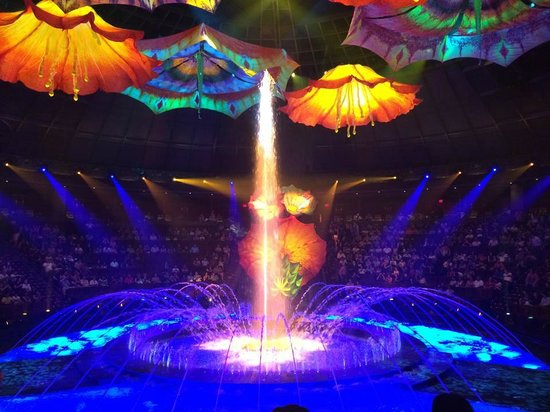 Wynn Las Vegas: 'La Reve' - the awe inspiring show at The Wynn