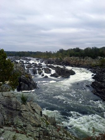 Great Falls Park: Mather Gorge and falls