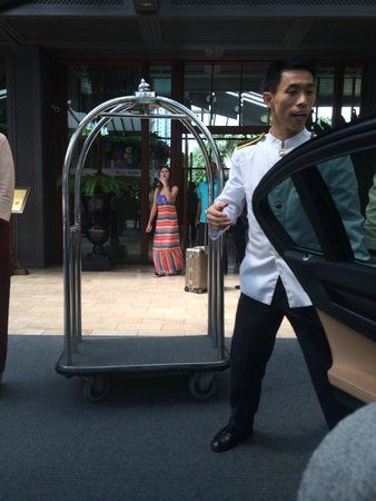 Mandarin Oriental, Bangkok: The best bell boy
