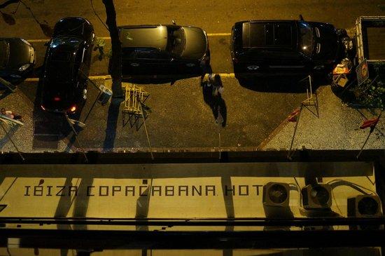 Ibiza Copacabana Hotel: Desde la habitacion