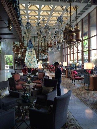Mandarin Oriental, Bangkok: Hotel reception