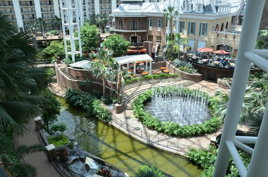 Gaylord Opryland Resort & Convention Center: View from Magnolia balcony room