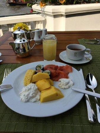 Mandarin Oriental, Bangkok: Buffet breakfast