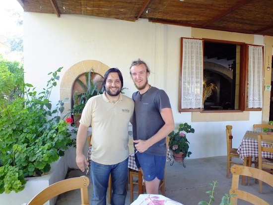 The Old House Restaurant: Peter and my partner