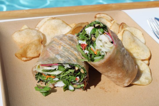 Four Seasons Hotel Westlake Village: Lobster Wrap