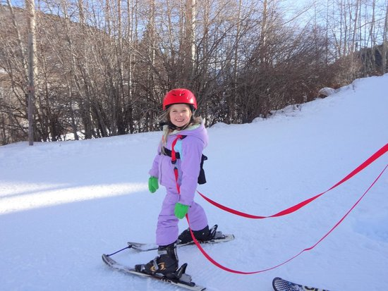 Sunlight Mountain Resort: Our 4 1/2 year old had a blast! First time to ski & see snow!