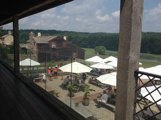 Wyebrook Farm Cafe and Market: View from market