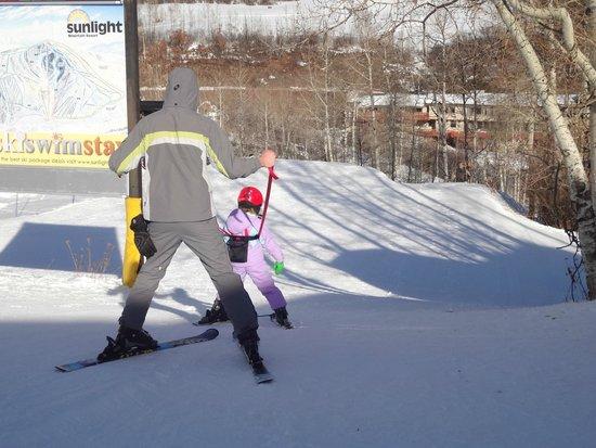 Sunlight Mountain Resort: Kid friendly.