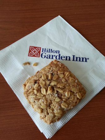 Cookies Picture of Hilton Garden Inn Albany Albany TripAdvisor