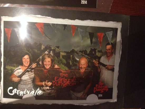 The Edinburgh Dungeon: Pretending to be scared