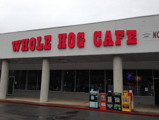 Whole Hog Cafe: Cantrell Road store front