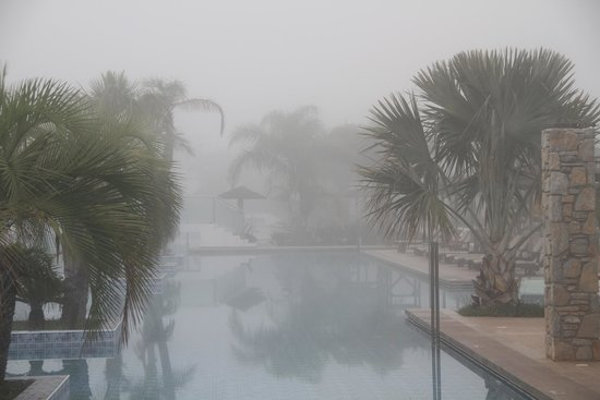 TUI SENSIMAR Palazzo del Mare : Misty ( exceptionally !!! )  morning in Palazzo