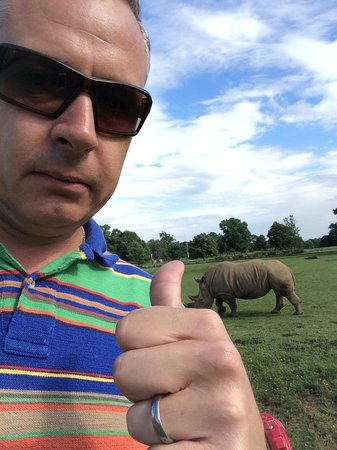 Cotswold Wildlife Park and Gardens: He wasn't happy