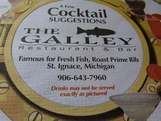 The Galley Restaurant: Famous for fresh fish