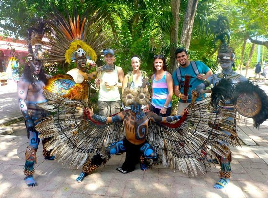 "Edventure Tours : ""Aztec Warriors"" at Tulum Ruins"
