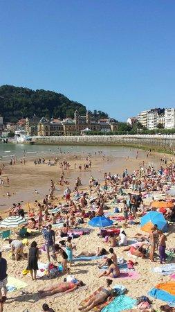 La Concha Beach : Spiaggia di S.Sebastian