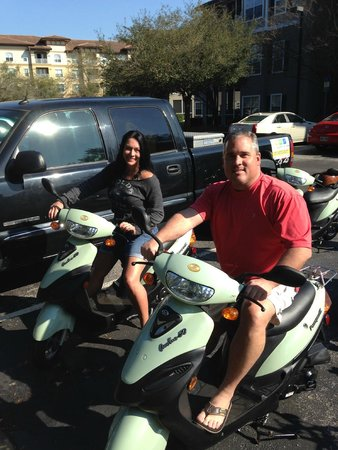 Bike-Scoot-Or-Yak Rentals of Jax Bch : Scooters are a great way to see the island.