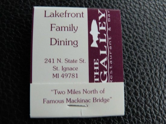 The Galley Restaurant: Lakefront family dining